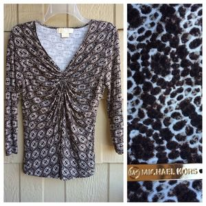 Michael Kors Tops - Michael Kors Animal Print top