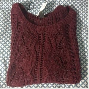 H&M Tops - ✨Maroon Sweater✨