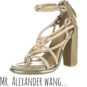 Alexander Wang Shoes - {hello there} Alexander Wang Strappy Sandals