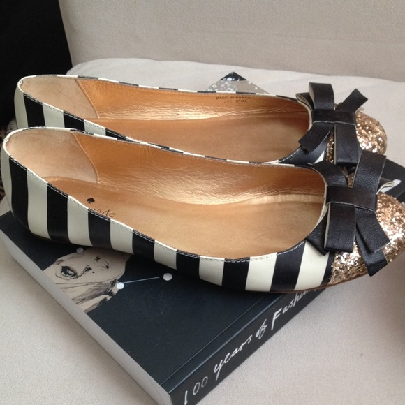 kate spade Shoes - Kate Spade Bow Flats