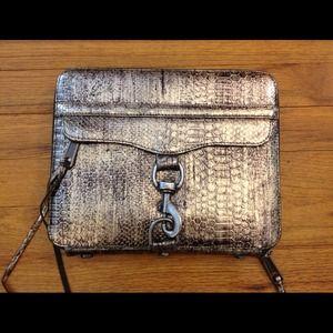 Rebecca Minkoff metallic python iPad case
