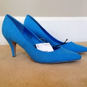 H&M Shoes - Brand new H&M blue heels