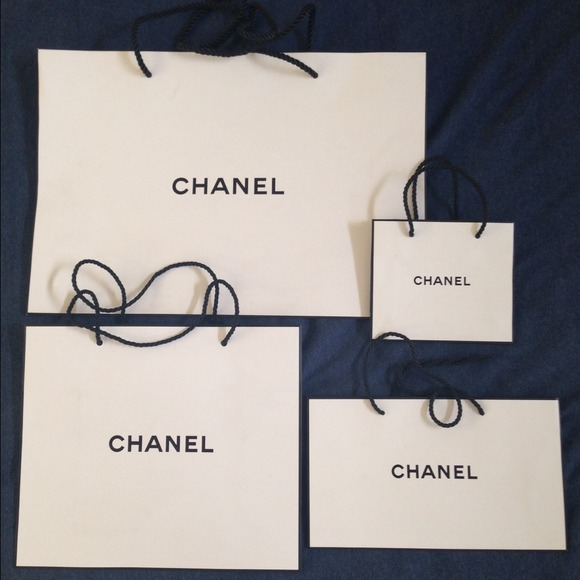 fa80ad0a879f CHANEL Other | Shopping Bag Cc Sticker Tissue Gift | Poshmark