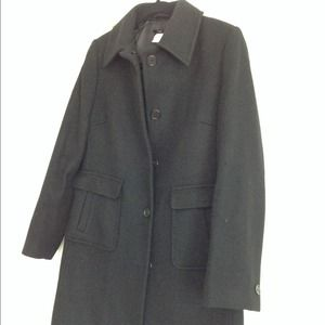 J. Crew Wool Winter Coat