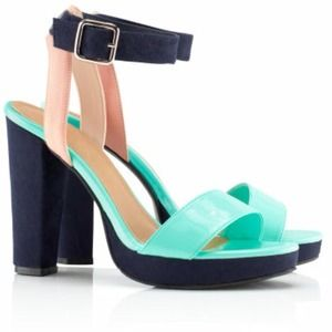 Brand New Color-block Heels!
