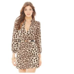 Dresses & Skirts - Sexy Leopard Print V-Wrap Dress