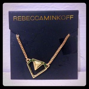 ⚡️NEW Rebecca Minkoff Gold Diamond Necklace ⚡️