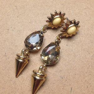 Jewelmint Midas Sun Earrings New