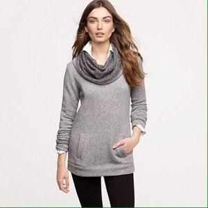 *SOLD* J. Crew Factory funnel neck sweatshirt