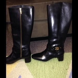 Tory Burch heeled riding boots