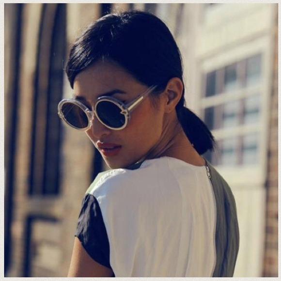 6e6e332bc6d Karen Walker Accessories - Authentic Karen Walker Orbit Clear Sunglasses