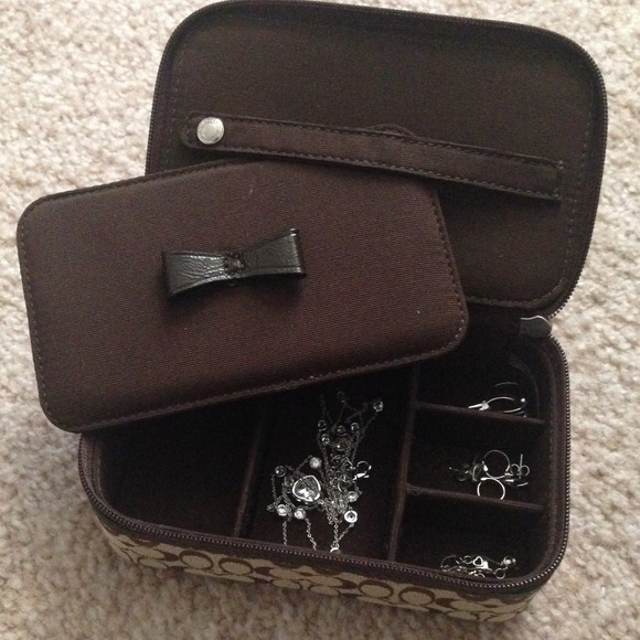 Coach Accessories Travel Jewelry Case Poshmark