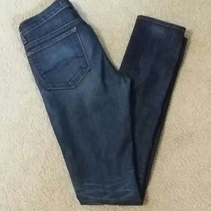 J brand dark wash skinnies