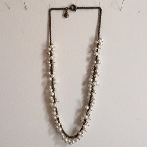 J. Crew pearl statement necklace