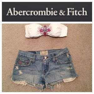 Abercrombie Fitch A&F festival shorts