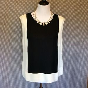 J. Crew Tops - J.Crew Silk Colorblock Top