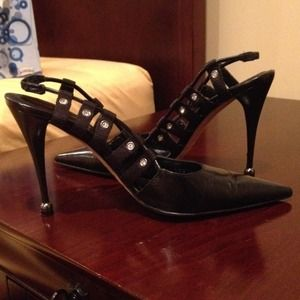Sergio Rossi black high heels