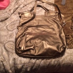 Foley and Corinna bronze mid city tote