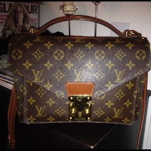Louis Vuitton Monceau 26 Briefcase Bag
