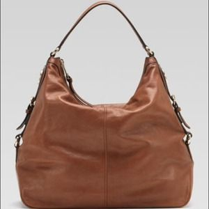 Gucci Village Large Hobo. Brown Leather NWT