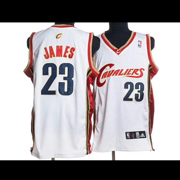 lebron james cleveland jersey white
