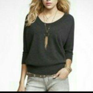 100% Cashmere Dolman Sweater