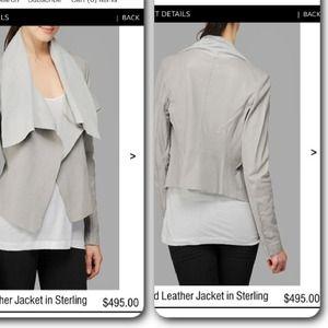 HostPick!!7 for all mankind leather jacket