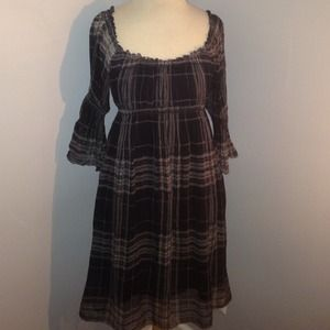 Sophie Max Dresses & Skirts - Size S Sophie Max Silk Plaid Dress!