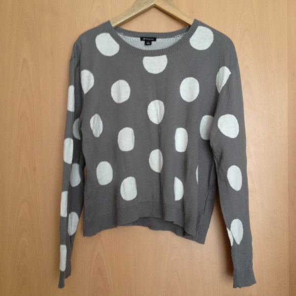 i heart ronson Sweaters - [ s a l e ] polka dot sweater