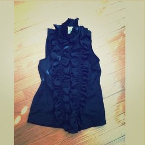 ESLEY {Anthroplogie} Victorian style blouse.