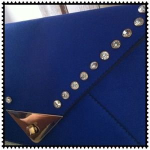 New studded Envelope clutch