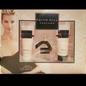 Other - Faith Hill Perfume set