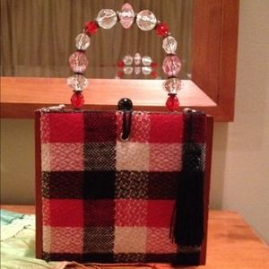 Handbags - Plaid * ~ Artsy Cigar Box Bag