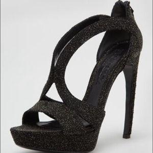 Alexander McQueen Shoes - Alexander McQueen High-Heel Black Sandal 10 NWT