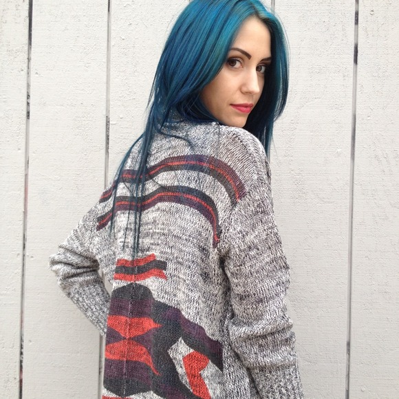 Sweaters - Salt and pepper southwest cardigan