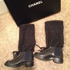 Authentic Chanel Slouchy Boot