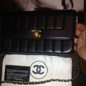 Vintage Chanel Medium Vertical Flap Bag