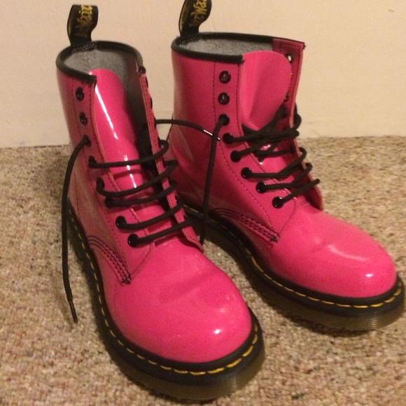 Dr. Martens Boots - Hot Pink Doc Martens 8aefa7c55641