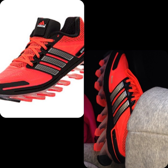 58ed56e993d4 Adidas Springblade size 4 in boys