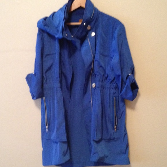 71% off Ali Ra Outerwear - Bright blue raincoat size M very very ...
