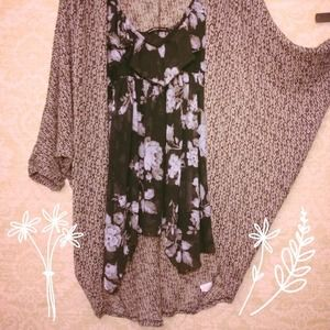Tops - Flowy Floral Top