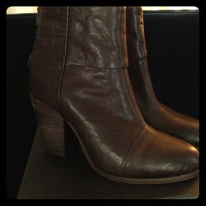 Rag & Bone dark brown Newbury boots