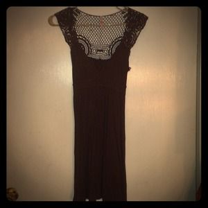 Lace back dress super cute!