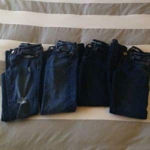 aeropostale Denim - BUNDLE Aeropostale skinny jeans all size 00, 000