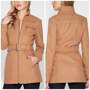 Brand New | Tan Camel Coat