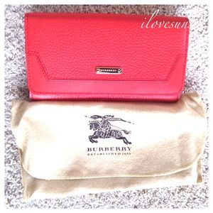 Burberry Clutches & Wallets - {BURBERRY} Leather Wallet