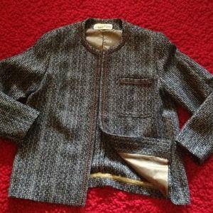Diane Von Furstenberg tweeted blazer/jacket 6/M
