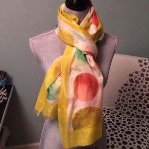 Beautiful bright scarf