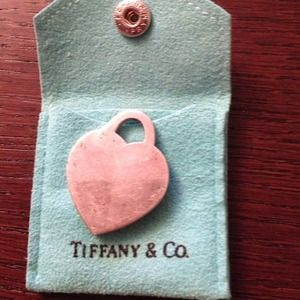 Tiffany & co heart tag charm