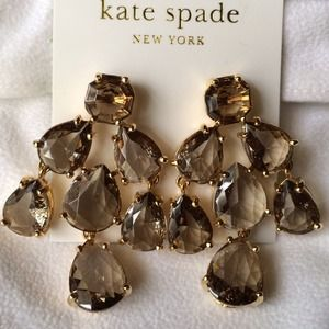 HP Kate Spade chandelier earrings